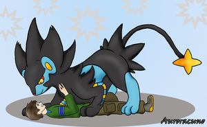 In Soviet Russia... Luxray catch you! by Auroracuno
