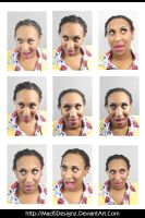 Cin - Funny Head Shots (Pack 1) by MadSDesignz