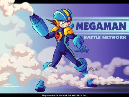 Megaman Battle Network by eltonpot