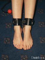 Feet in cuffs 4 by Dimitri4ever