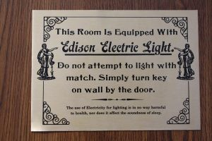 Edison electric light sign by micro5797