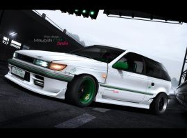 Mitsubishi Colt Turbo FWD by MarlboroDesign