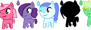 MLP Gem seed adopts by Omori-P