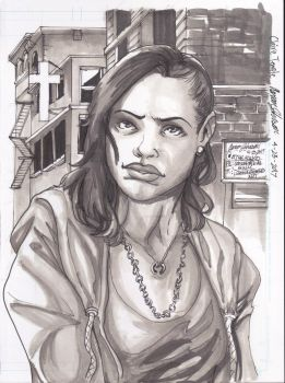 Claire Temple for LUKE CAGE [w / VIDEO] by Lightning-Powered