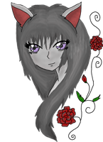 In a Grey Rose by KateIrieChan