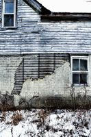Abandoned:  Partial Front View by basseca