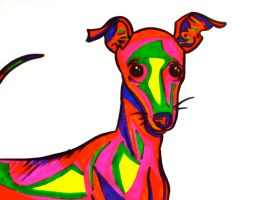 Greyhound by LucyLooStudios