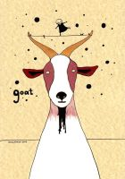 goat by maskpicasso