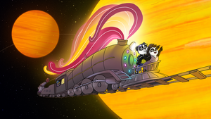Funky Panda youtube art - September 2014 by petirep