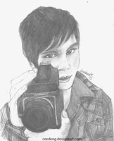 Logan Lerman by ceedeng