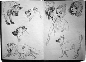 Sketchbook: Artistic Frustration by TheUrbanFox