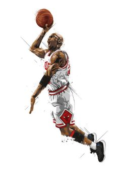 Michael 'Air' Jordan by earlsonvios