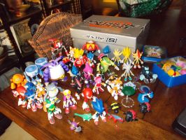 My Jazwares Sonic Figures 6 by SpikeHedgelion8