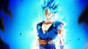 Dragon Ball Super Sunday: SSGSS Vegito by moxie2D