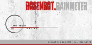 Rosenrot for Rainmeter by livinglightningrod