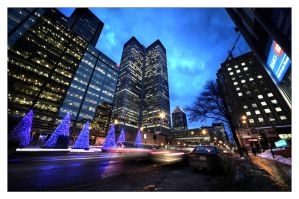 Montreal at Night 62 by Pathethic