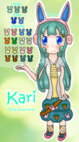 Kari - Reference Sheet by Yuki-Bunni
