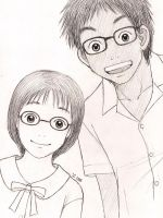 glasses boy glasses girl by cocon