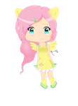 Teary Eyed Fluttershy by Ari-x1D