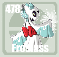 478 Froslass by Pokedex