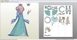 Rosalina papercraft preview by nin-mario64