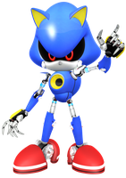 Metal Sonic by JaysonJean