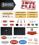 20+ Marketing Swipe File PSDs by GuyDub