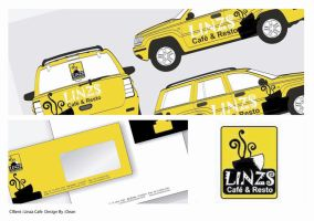 Rebranding Linzs Cafe by deanime