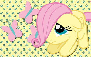 Fluttershy wallpaper 9 by AliceHumanSacrifice0
