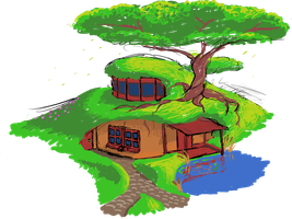 House In Ground by Scrawl-NG