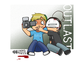 PewdieCry_Outlast by aulauly7