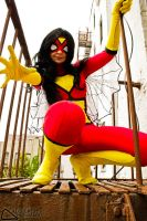spider woman by neoangelwink