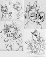 Scarecrow Sketches by TotemEye