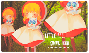 Little Red Riding Hood by Paulina29