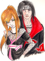 COMM:Itachi and Kagami by BritishMindslave