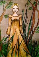 Girl in the Golden Gown by Kaayia