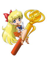 Sailor Venus Wand by SMeadows