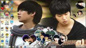 My New Amazing HeeMin Desktop Wallpaper XD by SungminHiroto