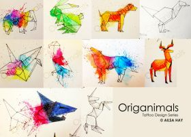 Origaminals by Pyroin