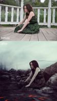 Before and After_Crabby day by passion-aesthete