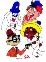 Dick Tracy's Crime Stoppers by JSCARTOONFAN