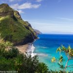 Kauai Na Pali Coast by digitalabstract