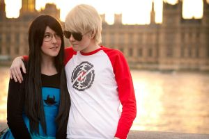 Homestuck: Space and Time by felixize