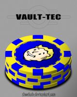 Vault-Tec Poker Chips by Shoedude