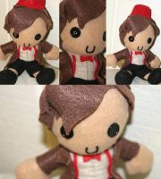 Eleventh Doctor plushie by niitsvee