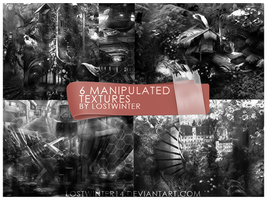 6 Manipulated Textures by Lostwinter14 by lostwinter14