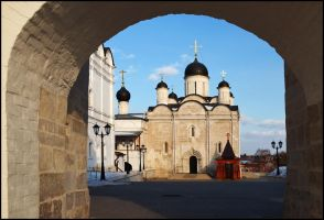 Monastery arch by Nickdan