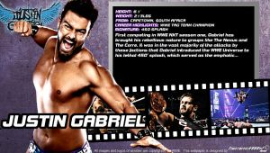 WWE Justin Gabriel ID Wallpaper Widescreen by Timetravel6000v2