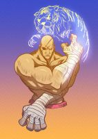 Sagat's Year by angryzenmaster