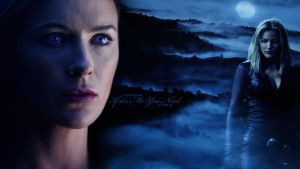 Cara  Kahlan Wallpaper LotS by grumpybear1031